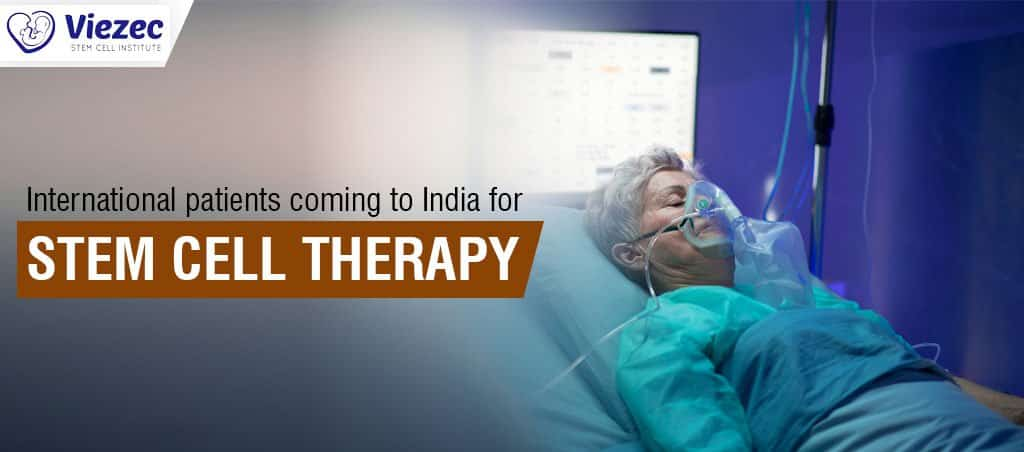 International Patients Coming To India For Stem Cell Therapy